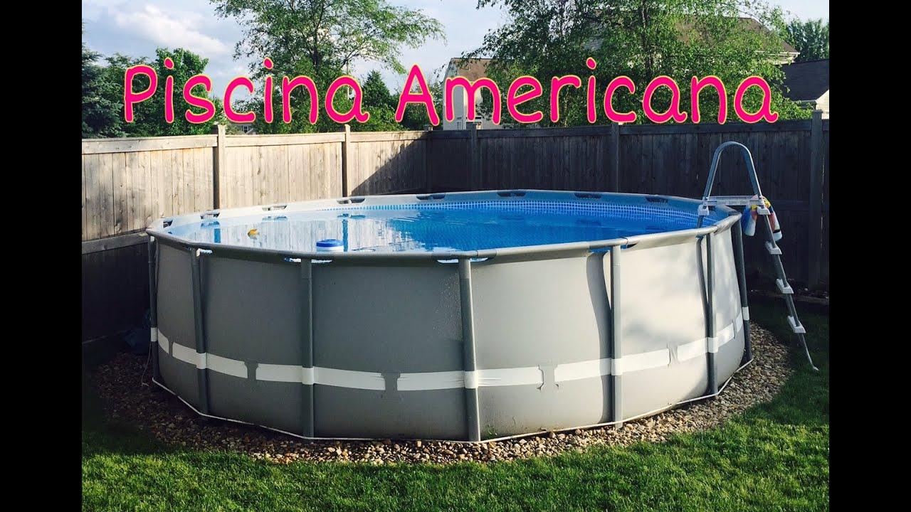 piscina de plastico na promocao