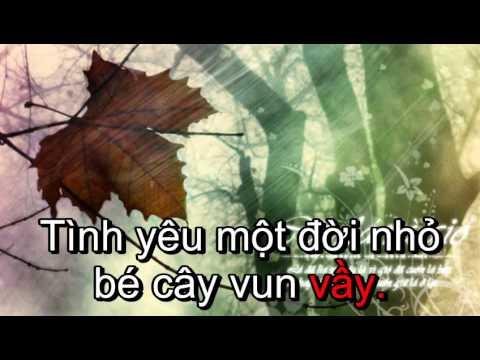 [Karaoke] Chuyện tình cây lá và gió-Ngô Kiến Huy (Beat)
