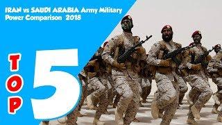 IRAN vs SAUDI ARABIA Army Military Strength Comparison 2018