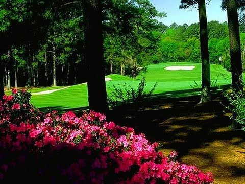 What is it like to be inside the ropes at Augusta National?