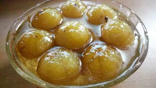 Easy Amla murabba/ Amla Sweet Pickle