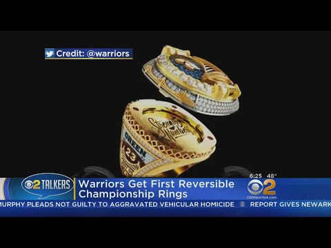 Warriors Get First Reversible Championship Rings