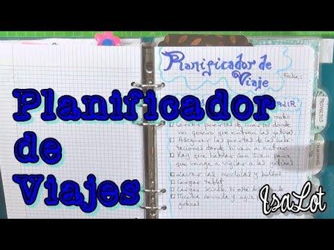 Bullet Journal Planificador de viajes - YouTube