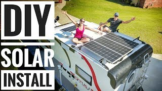 Camper Solar Setup Tutorial - How to Solar Power your RV, Camper Van, & Truck Camper