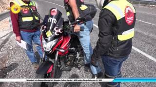 Motosikleti Orta Sehpaya Alma Ve Orta Sehpadan İndirme Dersleri - Antalya Gezgin Motorcular 4 K UHD