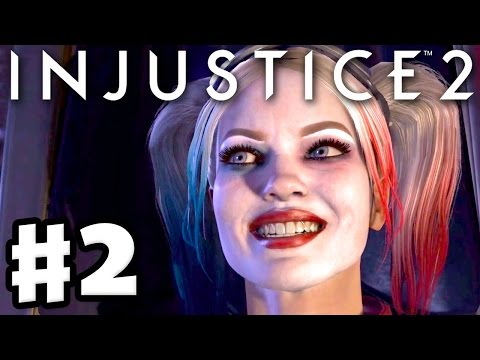 Injustice 2 - Gameplay Part 2 - Harley Quinn! Chapter 2: The Girl Who Laughs (Story Mode)