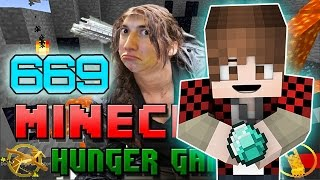 """""""CRAZY CRAFTER GAMES"""" Minecraft: Hunger Games w/Bajan Canadian! Game 669"""