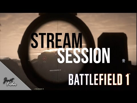 Battlefield 1 - Livestream #4 [ GER / ENG / 1080p / 60FPS ]