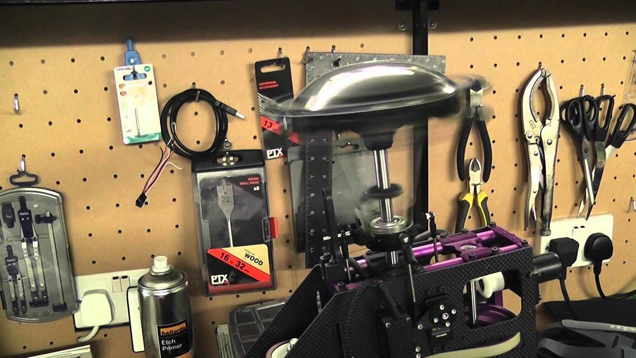 Scale helicopter mechanics - YouTube