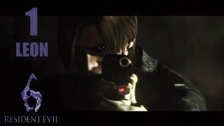 Resident Evil 6 Walkthrough (ITA)- LEON -1- All