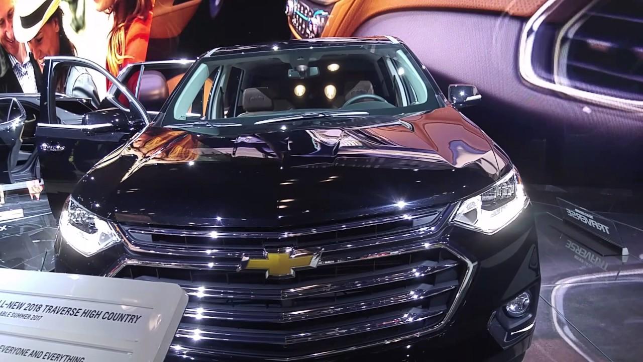2018 chevrolet high country traverse.  High 2018 Chevrolet Traverse High Country For Chevrolet High Country Traverse