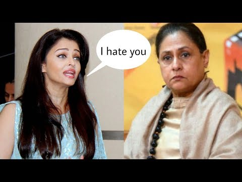 Revealed !Aishwarya rai bachchan hates mother in law Jaya Bachchan|Aish-Jaya Fight 😮