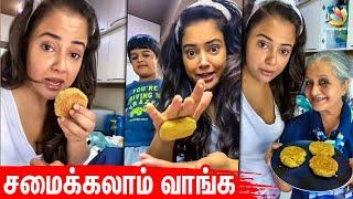 Cooku With Celebrities | Sameera Reddy, Pranitha, Suriya, Tamil Actress, Quarantine