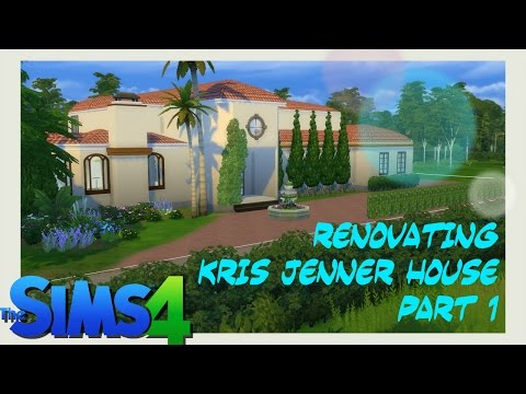 Sims4--Speed Build- Renovating  Kris jenner house