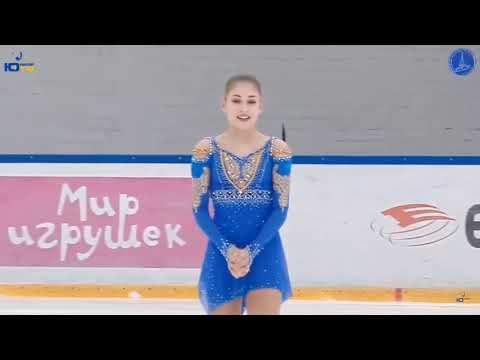 Alena Kostornaia 2019 Jr Russian Nationals Free Skate