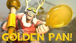 TF2: Market Gardening with a GOLDEN FRYING PAN!