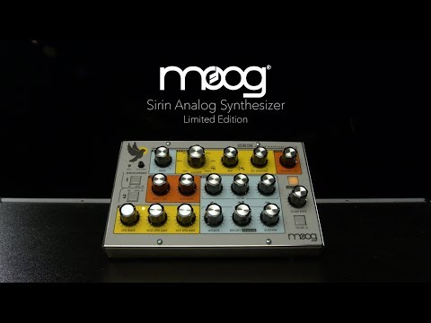 Moog Sirin Analog Synthesizer, Limited Edition | Gear4music Demo
