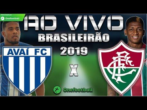 Avaí x Fluminense Ao Vivo   Brasileirão 2019   Parciais Cartola FC   36ª Rodada   Narração