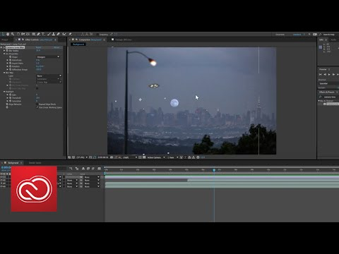 How To Add Special Effects To Video With After Effects PART 4 | Adobe Creative Cloud