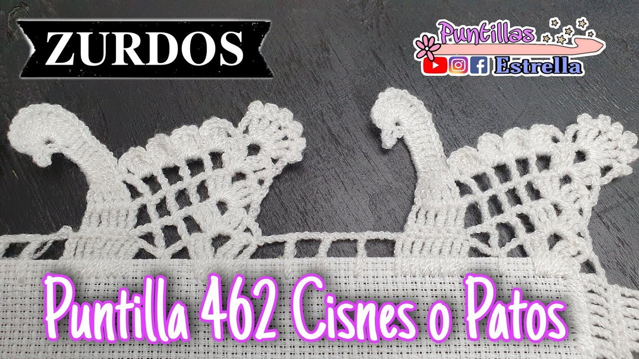 Puntilla 462 Cisnes o patos (ZURDOS)