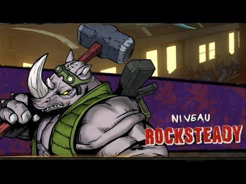 Les Tortues Ninja : Des mutants à Manhattan. Episode 2 : Rocksteady [+boss secret]