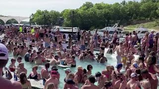 Americans soak up sun on beaches as coronavirus death toll nears 100,000