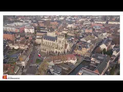 La Normandie vue du ciel / Louviers