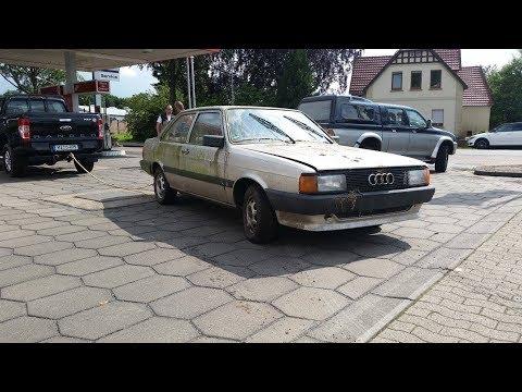 Scheunenfund: Rettung eines Audi 80 B2 von 1985