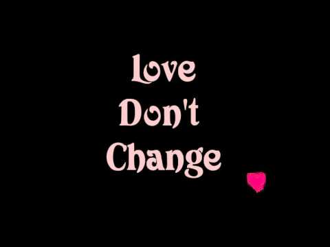 Jeremih | Love Don't Change | Lyrics