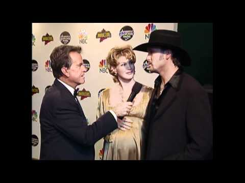 Dick Clark Interview with Tim McGraw and Faith Hill - ACM Awards 1997