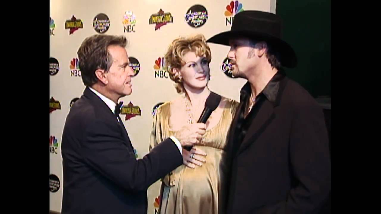 Dick Clark Interview with Tim McGraw and Faith Hill  ACM