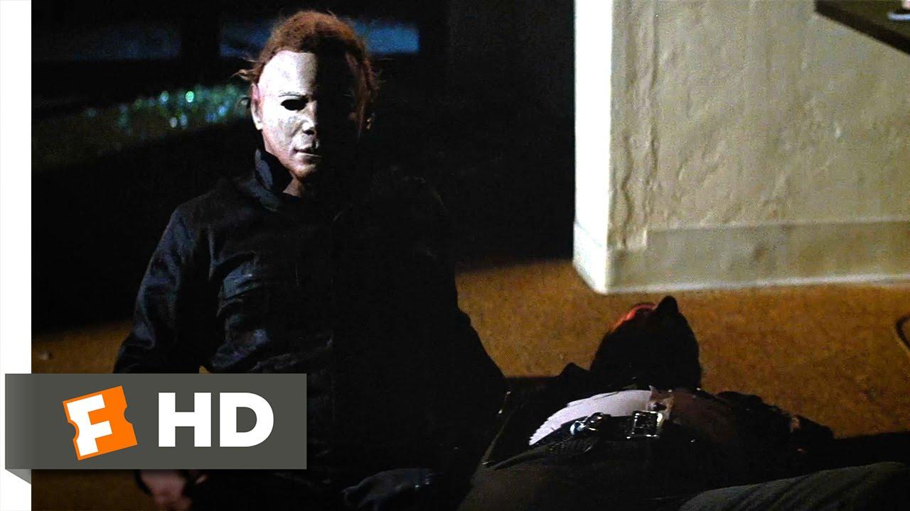 Lovely Halloween II (9/10) Movie CLIP   Why Wonu0027t He Die? (1981) HD
