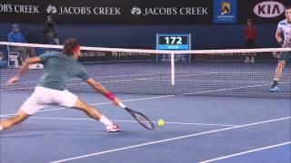 Federer's Fantastic Lob |  Australian Open 2014
