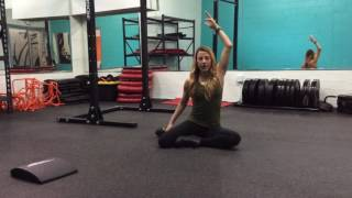 Lateral flexion and rotation for spine health