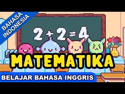 Lagu Belajar Bahasa Inggris | Matematika (Mathematics) | Lagu Anak 2017 Terpopuler | Bibitsku