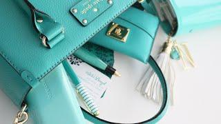 WHAT'S IN MY HANDBAG | Handbag Organization Spring 2016 | Kate Spade handbag