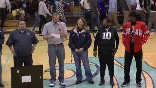 Greg Jenkins gets honored at Wesley Chapel