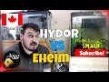 You WON'T Believe This! Hydor VS Eheim Pro Canister Filter dB Test
