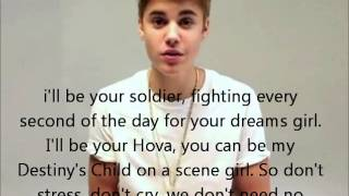 As Long As You Love Me - Justin Bieber feat. Big Sean (lyrics with pictures)