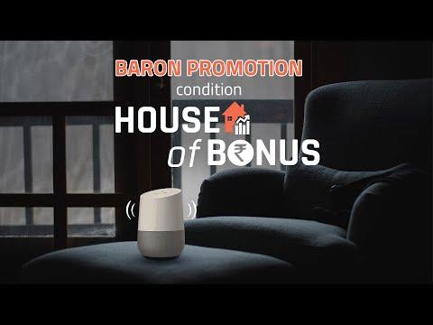 Asort | HOUSE OF BONUS | HOUSE EXPERTS EXPLAINS BARON PROMOTION CONDITION
