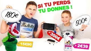 DEVINE LE PRIX SINON TU DONNES ! - Swan VS Néo