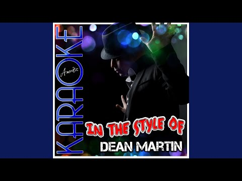 Baby Its Cold Outside (In The Style Of Dean Martin) (Karaoke Version)