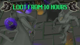 10 Hours Of Grotesque Guardians LOOT (Gargoyle Boss) + Guide OSRS