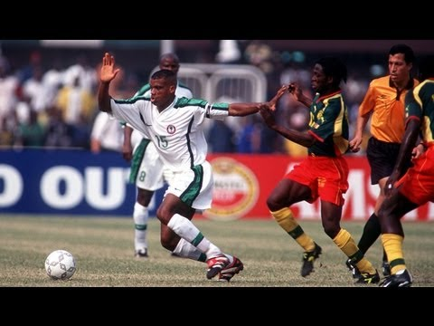 Image result for cameroon vs nigeria 2000
