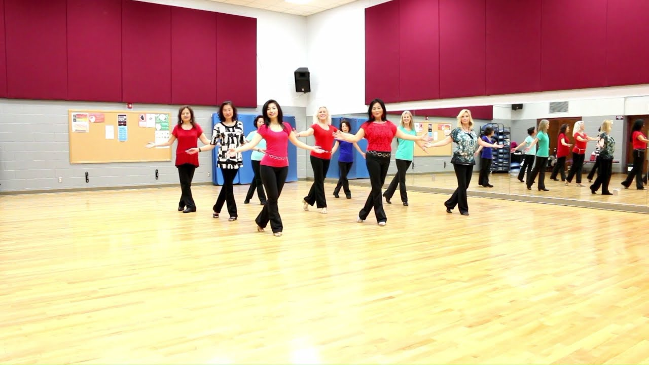 You Are The Reason - Line Dance (Dance & Teach in English & 中文) - YouTube
