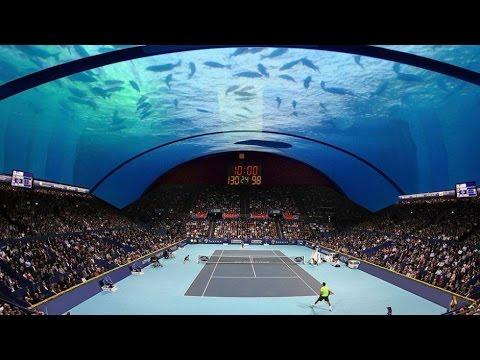 An Underwater Tennis Court In Dubai To Host Grand Slam Tournaments