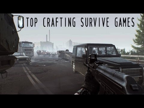 top 10 crafting survival games pc youtube