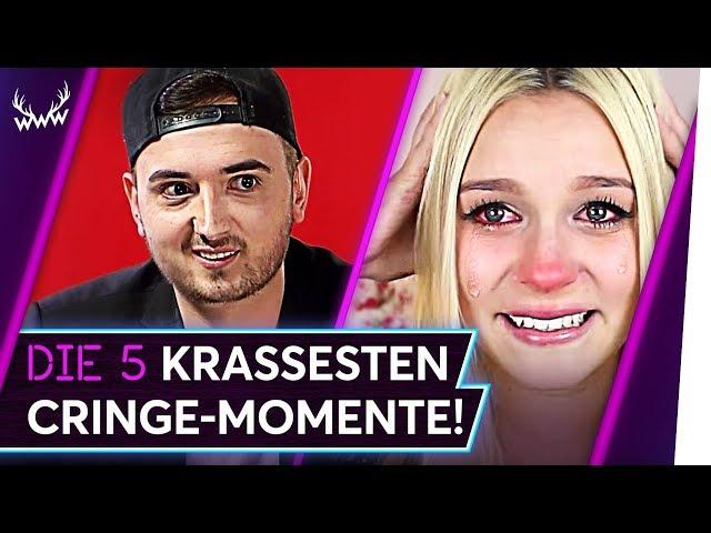 Die 5 KRASSESTEN Cringe-Momente auf YouTube!   TOP 5