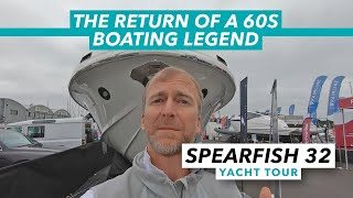 Supermarine Spearfish 32 yacht tour | The return of a 1960s boating legend | Motor Boat & Yachting