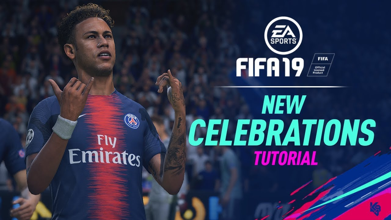 FIFA 19 new celebrations and tutorial, ft Cristiano Ronaldo